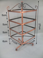 Jewelry Stand metal jewelry stand - VINTAGE JEWELRY EARRING DISPLAY HOLDER STAND METAL RACK