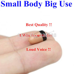 Wholesale Promotions Smallest best quality invisible micro earphone wireless hidden exam mini earpiece worldwide freeshipping
