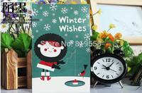 Cartel tarjetas postales 30 PC / set Tarjeta Feliz Navidad / tarjeta de felicitación / objetivos de la Navidad de la historieta del envío libre / regalo de la manera