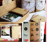 Wholesale Promotion Postcard Greeting Mini Cards Gift Thank You Note Lomo Card box