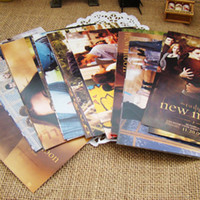 Wholesale Freeshipping Twilight movie classic postcard picture cards can be mailed Birthday Card Greeting Card Gift Card Fashion Gift