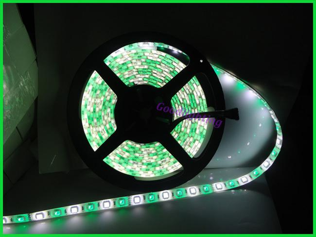 RGBW led strip Waterproof 5M 300led DC12V flexible led bar light + RGBW led controller garden light