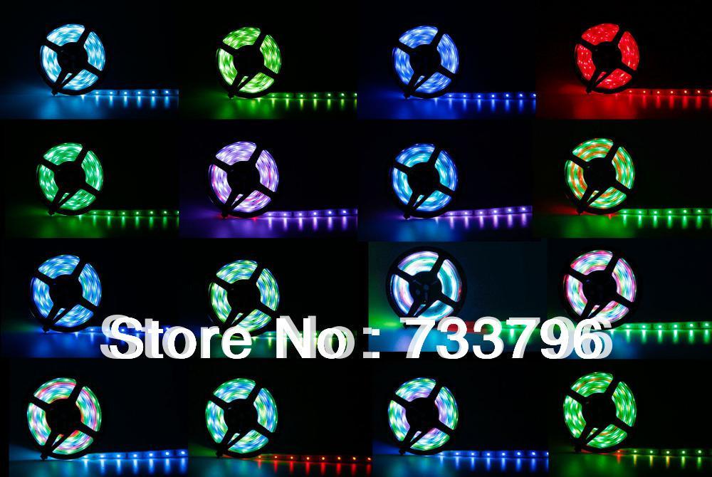 5m 6803IC 5050 Digital RGB Strip 150LED IP68 Tube Waterproof Dream Magic Color 12V LED Strip For KTV DJ Square Decoration