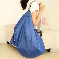 Wholesale Discount Nylon Foldable Women Travel Bags Large Capacity Luggage Travel Bags Backpacks Mochila Travel Bag SV00527