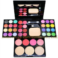 ad powder - Fashion ADS makeup palette eye shadow plate lipstick blush powder makeup set Cosmetics full set