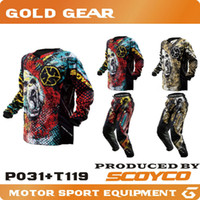 Wholesale Protective Gears Combinations SCOYCO RACING ELEMENT MULTI MX MOTOCROSS pants RACING MENS ADULT MX ATV MOTORCROSS Jersey Newest