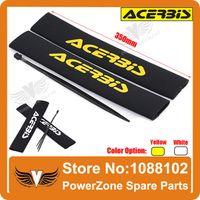 dirt bike shock absorber - ACERBIS Front Fork Shock Absorber Cover Protector Guard Wrap Cover Set for Motorcycle Dirt Pit Bike