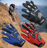 Wholesale 100 Breathable Motorcycle Gloves Motorbike Motocross MX ATV Quad Dirt Trail Pit Bike Skating Motorcycle Gloves winter summer