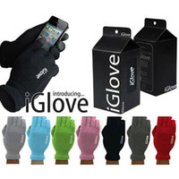 working leather gloves - Hot guantes touch screen iGlove Touch Glove Winter Work for Men Touch Gloves Capacitive For Phone iPhone iPad Touch