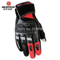 Wholesale Scoyco MC17B motorcycle gloves TOUCH SENSITIVE DEVICE FOR IPHONE IPAD Waterproof Gloves Windproof Warm