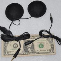 bicycle helmet speakers - bicycle Audio Motorcycle Bike Helmet Headphones Speaker FM Stereo VOLUME control for Music iPod Pad Phone iphone Ipad Mp3 Radios