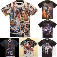 basketball flash game - New fashion men s d print Kobe Bryant USA all star basketball sports game t shirt men funny t shirt shirts top tees