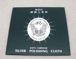 10Pcs Silver Jewelry Cleaning Cleaner Polishing Cloth 82x82mm