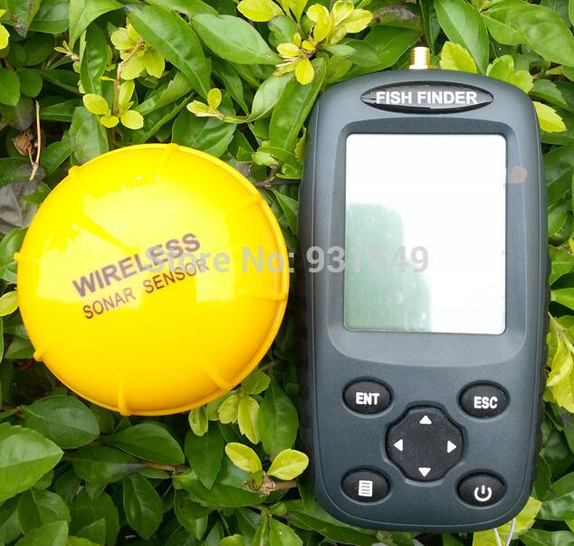 ffw718 fish finder upgrade russian recharge waterpoof wireless, Fish Finder