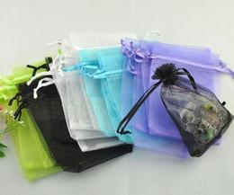100pcs Mixed organza Wedding Gift Bags&Pouches 16x13cm