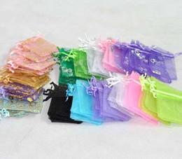1500pcs Mixed organza Wedding Gift Bags&Pouches 9x7cm