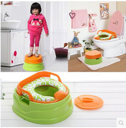 Wholesale kingtoy plastic Baby child toilet potty trainer chair toilet seat for baby care