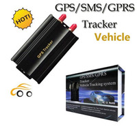 Wholesale GPS Tracker GPS SMS GPRS Tracker Vehicle system Automotive Sample