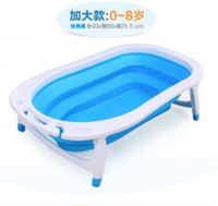 bathtub for newborn - size cm suit for years old baby Newborn baby bath supplies large thick collapsible baby bathtub child bath tub
