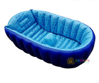 bath tub for infants - New inflatable infant baby soft bath showers tub thick PVC for newborn gift