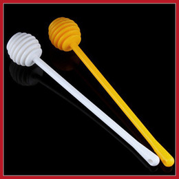 Wholesale Suitable dealward Plastic Honey Dipper Stick for Honey Jar Long Handle Save up to More benefit