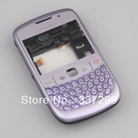 Wholesale High Quality Violet Full Housing Cover Case for Blackberry Curve Original OEM