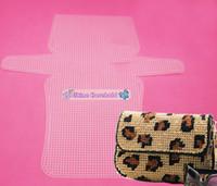 big plastic sheets - Factory suppply Clear soft Plastic Canvas Purse Sheets big