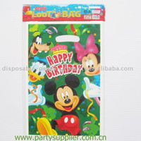 Cheap 80pcs party bags,birthday gift bags,Plastic 16.2cm x 24cm,Free shipping