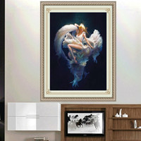beautiful mosaics - Beautiful Aurora D DIY Dancer Diamond Painting Embroidery Round Crystal Cross Stitch Painting Resin Mosaic Needlework
