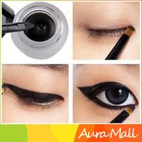 best waterproof gel eyeliner - Best Seller Beauty Black Gel Eyeliner Make Up Waterproof Freeshipping Cosmetics Set Eye Liner mc Makeup Eye
