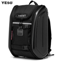 motorcycle hard bags - Yeso personality double waterproof men s backpack bag travel computer man bag ride motorcycle hard pack luggage amp travel bags