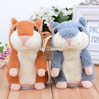 baby hamsters - Top Sale New Arrival Baby Kids Electronic education Toy Speak Talking Sound Record Hamster Plush Toys