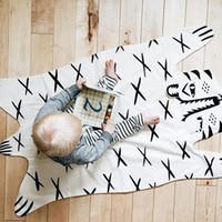 Precio de Los niños juegan-La nueva manta de la estera del juego de la cruz del bebé de Wholesale-2015 Roxymarj manta el regalo del tigre para las mantas de los cabritos Multi-Function en el sofá cama