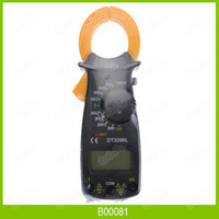amp clamp meter - DT3266 Multimeter Digital Clamp Meter Electronic LCD AMP Tester Clip on Table Meter