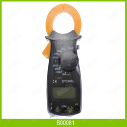 Wholesale DT3266 Multimeter Digital Clamp Meter Electronic LCD AMP Tester Clip on Table Meter