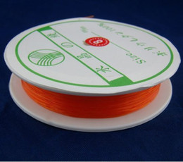 Wholesale-10 Metres Stretch Elastic Beading Wire Cord String Thread DIY 0.8mm 4Q230