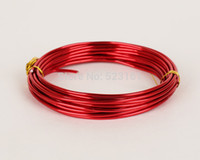anodized colored aluminum - new anodized aluminum wire craft mm thickness gauge colored aluminium wire meters supplies for jewelry and handcraft