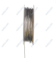 Cheap Wholesale-Nickle Colored Copper Bead Wire Craft Wire 0.6mm for jewelry making (8 Meters)
