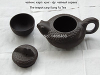 Cheap Tianmu 2015 new hot teapot carp Kung Fu tea gifts special sales package 110cc Quantity discount