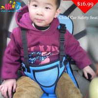 baby car seats - Hot Child Car Safety Seats Color Portable Baby Car Safety Booster Seat dining chair seat belt drop shipping