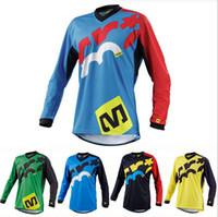 motorcycle shirt - MAVIC Ropa MTB Downhill Jersey Bike Motorcycle Cycling Crossmax Shirt Ciclismo Clothes for Men Long Sleeve DH MX jersey