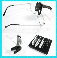Wholesale Clip On Clamp Magnifying Lens Magnifier for Eye Reading Glasses