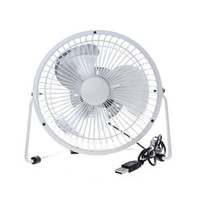 arts radiator - hot sale USB Mini Electric Fan Portable Cooler Cooling fan Desktop Power PC Laptop Desk Fan Rotate Metel Mute Radiator