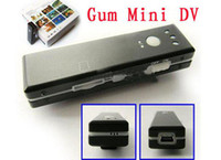Wholesale Spy Camera Gum Pocket Size Chewing Gum Recorder Mini DV D004 Digital Video Camcorder HOTTEST P ew