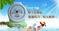 aluminium fan blades - multifunction fan lamp Mini Portable Rechargeable Fan student dormitory desk fan mute large wind aluminium blade inches