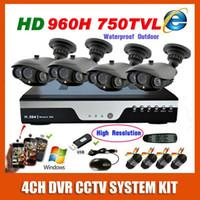 best high resolution security camera - Best HD H Effio TVL High Resolution Array IR Waterproof cameras CCTV systems Video Surveillance CH home Security Kit