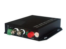 Wholesale Free Ship CH Digital Video Multiplexer Over Optical Fiber for CCTV Broadcast ect CH Video Bidi Data M Ethernet