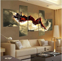 Wholesale Sleeping Beauty Screen Gift HAND PAINTED Pop canvas Modern Decorative Portfolio Abstract art Dance Beautiful oil paintings