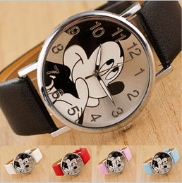 Wholesale fashions brand luxury cartoon kid s child watch mickey student children watches reloj mujer Mouse casual sports watches