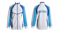 Wholesale New Free Iwatobi Swim Club Haruka Nanase School Sprot Coat Jacket Cosplay Costume Anime Products